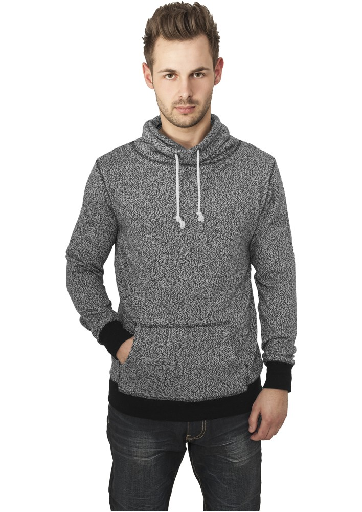 Urban Classics Melange High Neck Knitted Crew TB543