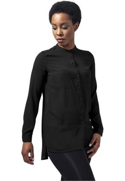 Urban Classics Damen Ladies HiLo Chiffon Blouse TB1335