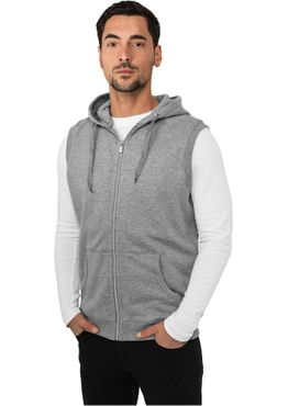 Urban Classics Light Fleece Ärmelless Zip Hoody TB255