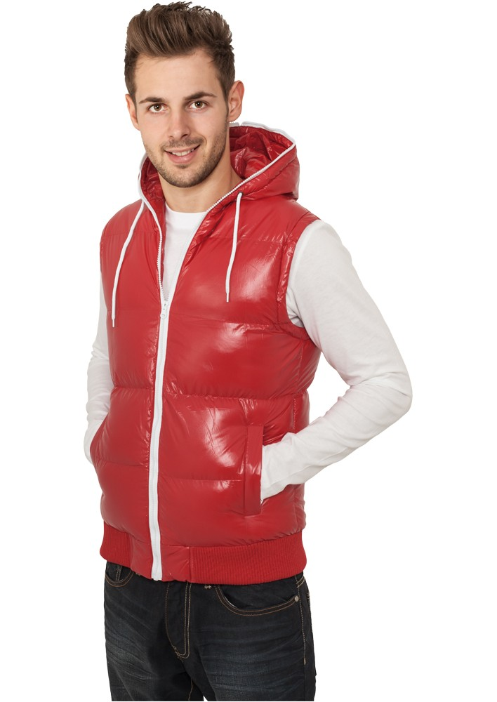 Urban Classics Hooded Bubble Vest TB332