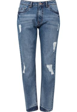 Urban Classics Damen Boyfriend Denim Pants TB1540