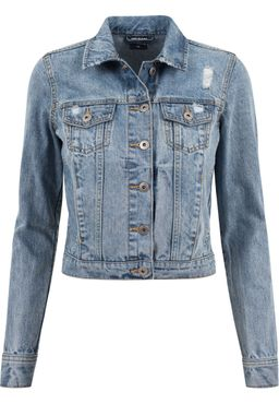 Urban Classics Damen Denim Jacket TB1542