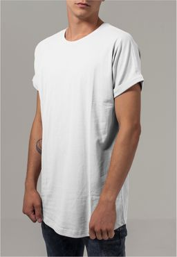 Urban Classics Herren Long Shaped Turnup Tee TB1561