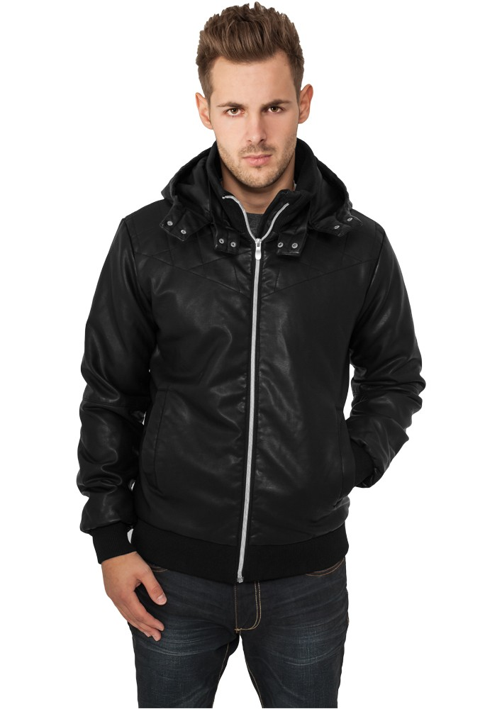 Urban Classics Leather Imitation Jacket TB436