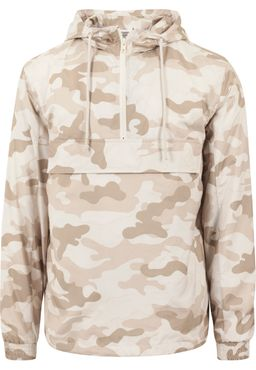 Urban Classics Herren Camo Pull Over Windbreaker TB1623