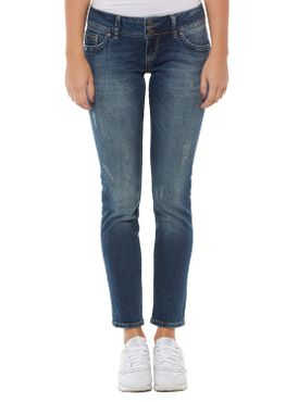 Cross Damen Jeans Melissa Skinny Dirty Blue P481-126