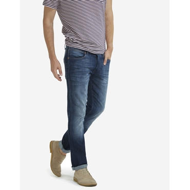 Wrangler Herren Jeanshose Spencer Blue Route Slim Fit Blau W16A0885D
