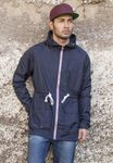 Urban Classics Long Nylon Windbreaker TB670 001