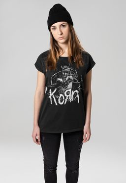 Merchcode Damen Korn Cracked Glass Tee MC051