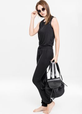 Urban Classics Damen Tech Mesh Long Jumpsuit TB1630