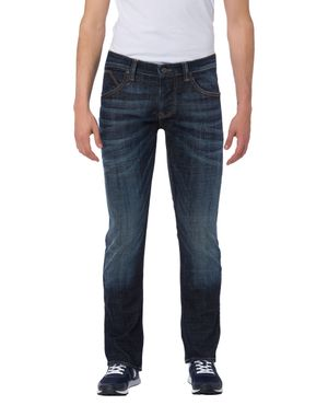 Cross Herren Jeans Dylan Regular Fit Deep Blue E195-070