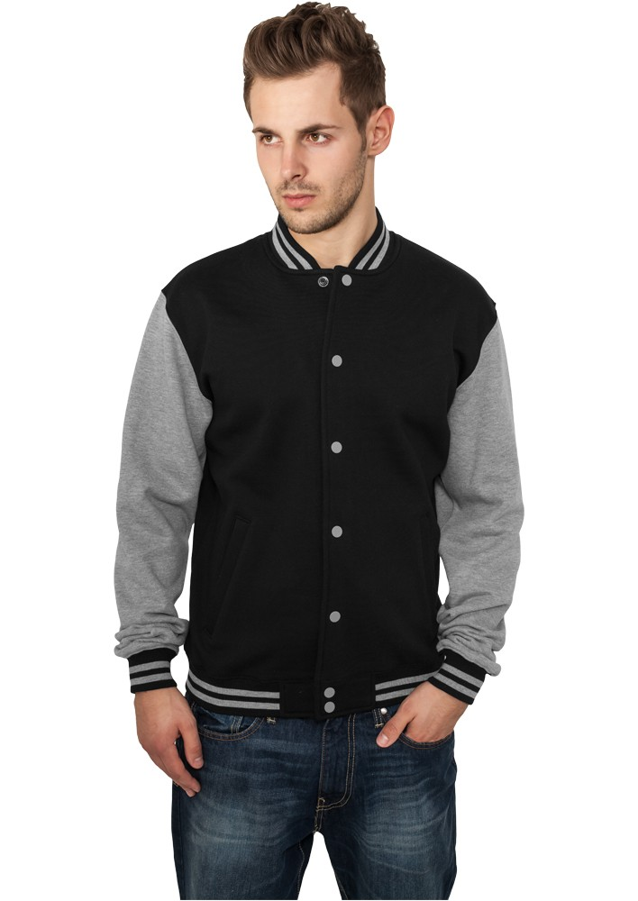 Urban Classics 2-tone College Sweatjacket TB207