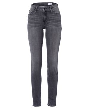 Cross Damen Jeans Anya Slim Fit Dark Grey P489-122