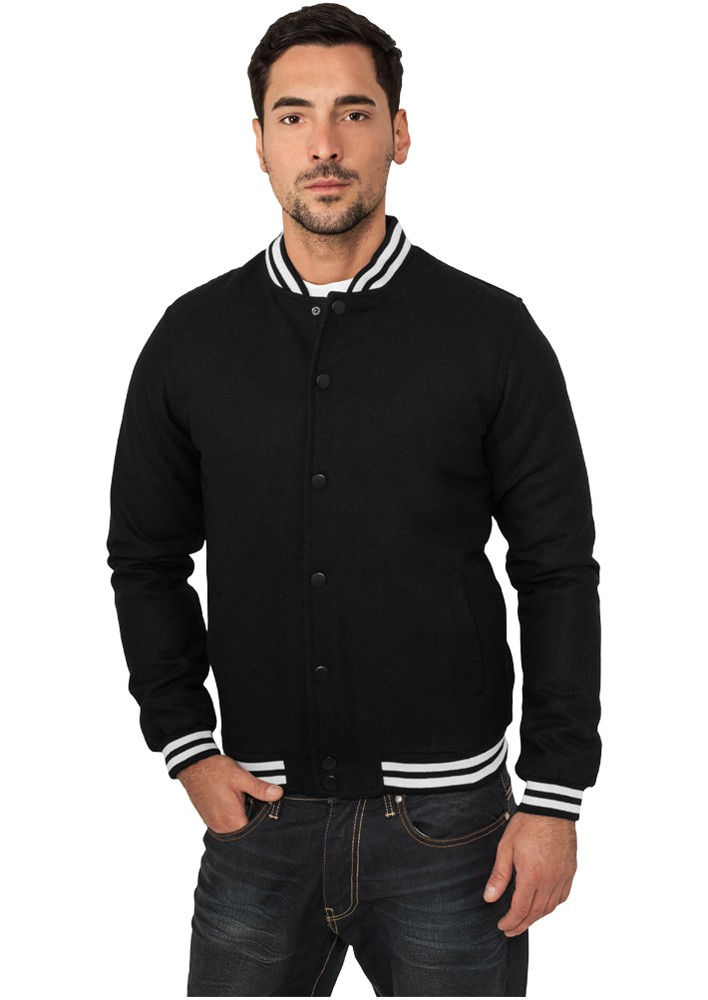 Urban Classics Wolle College Jacket TB198