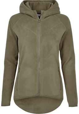 Urban Classics Damen Polar Fleece Zip Hoody TB1728