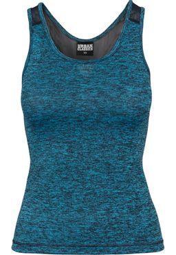 Urban Classics Damen Active Melange Trainings Top TB1657