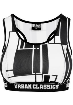 Urban Classics Damen Graphic Sports Bra TB1662