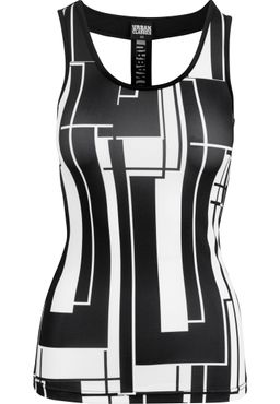 Urban Classics Damen Graphic Sports Top TB1663