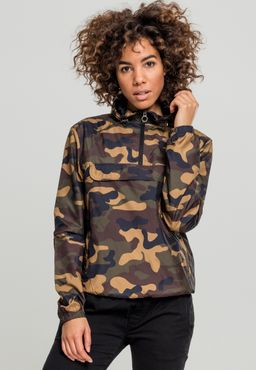 Urban Classics Damen Camo Pull Over Jacket TB2015