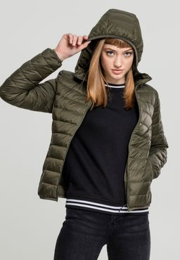 Urban Classics Damen Basic Hooded Down Jacket TB2008