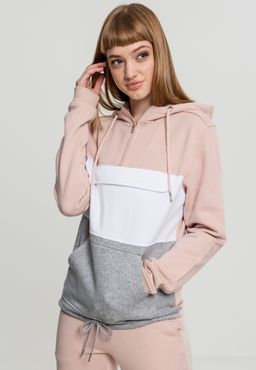 Urban Classics Damen Color Block Sweat Pull Over Hoody TB1988
