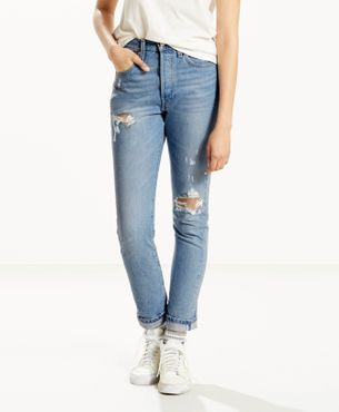 Levis Damen Jeans 501® Skinny CanT Touch This 29502-0034
