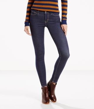 Levis Damen Jeans Innovation Super Skinny High Society 17780-0014