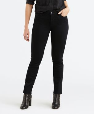 Levis Damen Jeans 712 Slim Black Sheep 18884-0001