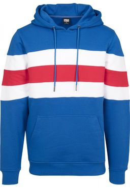 Urban Classics Herren Chest Striped Hoody TB2507