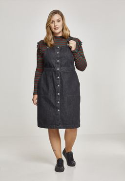 Urban Classics Damen Denim Dungarees Dress TB2368