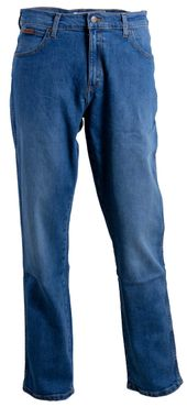 Wrangler Herren Jeans Texas Straight Stretch Clift Blue W1212327H