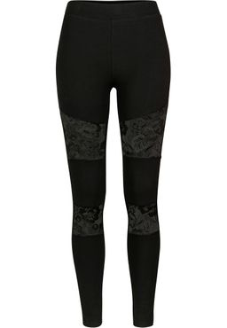 Urban Classics Damen Laces Inset Leggings TB2593