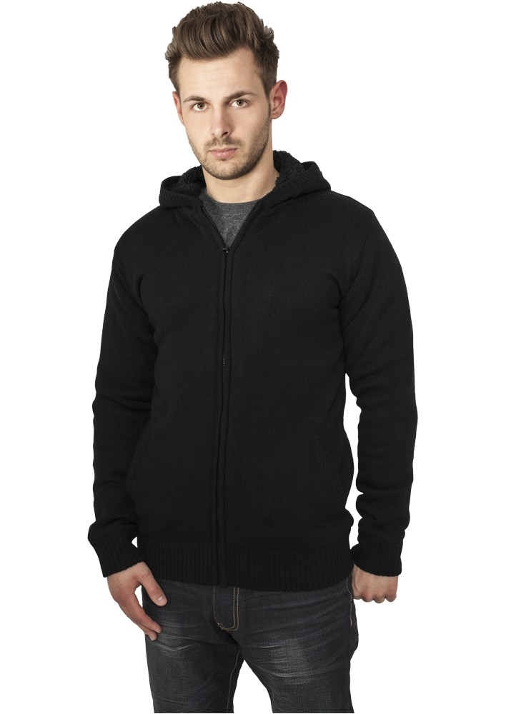 Urban Classics Knitted Winter Zip Hoody TB556