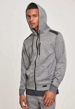 Southpole Herren Marled Tech Fleece Full Zip Hoody