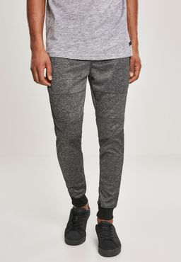 Southpole Herren Zipper Pocket Marled Tech Fleece Jogger