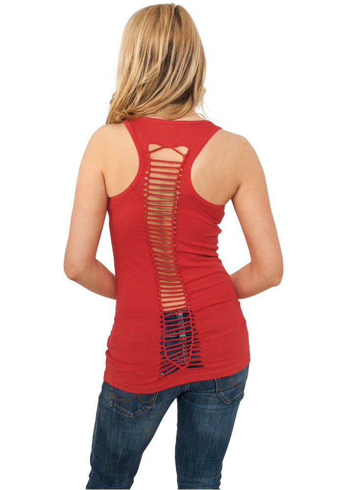 Urban Classics Damen Cutted Back Tanktop TB588