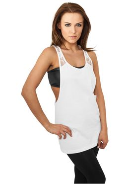 Urban Classics Damen Flower Laces Loose Tank TB712