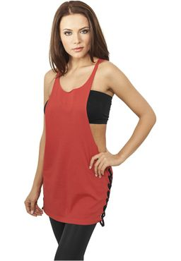 Urban Classics Damen Side Knotted Loose Tank TB915