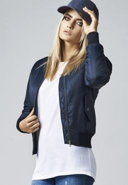 Urban Classics Damen Basic Bomber Jacket TB807