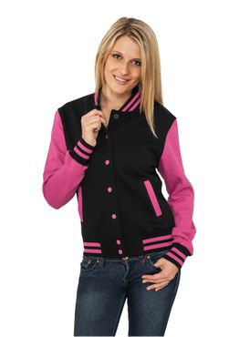 Urban Classics Damen 2-tone College Sweatjacket TB218