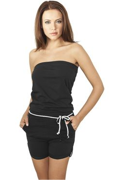 Urban Classics Damen Hot Turnup Jumpsuit TB921