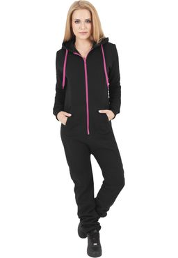 Urban Classics Damen Sweat Jumpsuit TB1077