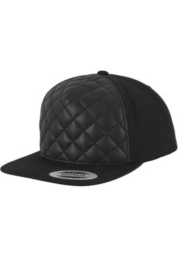 Diamond Quilted Snapback 6089Q