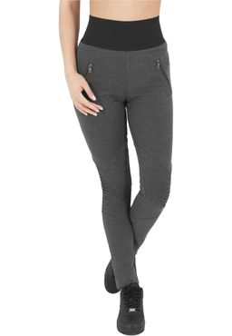 Urban Classics Damen Interlock High Waist Leggings TB1053