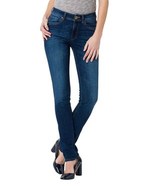 Cross Damen Jeans Anya Dark Used P489-006