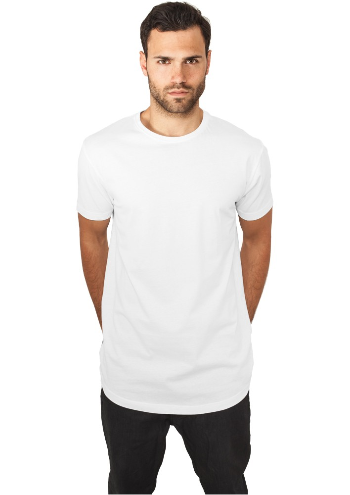 Urban Classics Herren Shaped Long Tee Langes T-Shirt TB638