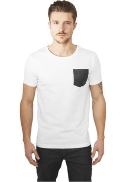 Urban Classics Leather Imitation Pocket Tee TB970